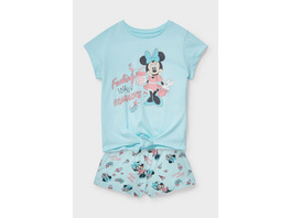 Minnie Maus - Shorty-Pyjama - Bio-Baumwolle - 2 teilig