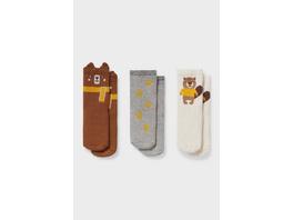 Multipack 3er - Baby-Anti-Rutsch-Socken