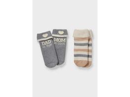 Multipack 2er - Baby-Anti-Rutsch-Socken
