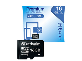 MICROSDHC CLASS 10 16GB